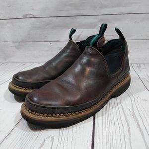 Georgia Giant brown leather romeos